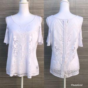 Nicole Miller blouse Size Large